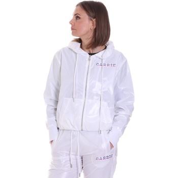 Textil Mulher Casacos  La Carrie 092M-TJ-420 Branco