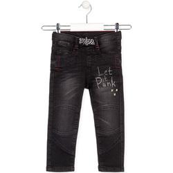 Textil Criança Calças Jeans Losan 025-6029AL Preto