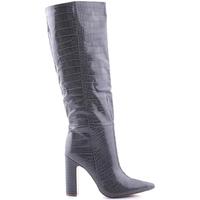 Sapatos Mulher Botas baixas Steve Madden SMSROUGE-GRYCRO Cinzento
