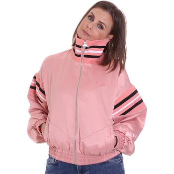 Textil Mulher Casacos  Fila 687931 Rosa