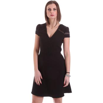 Textil Mulher Vestidos curtos Dixie A529M068 Preto