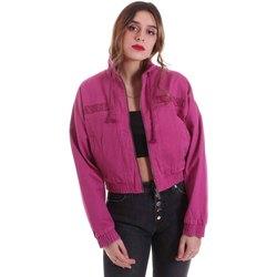 Textil Mulher Casacos  Karl Kani KRCKKWQ32042DPNK Tolet