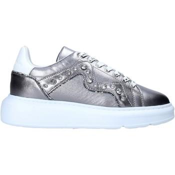 Sapatos Mulher Sapatilhas Manila Grace S016LW Prata