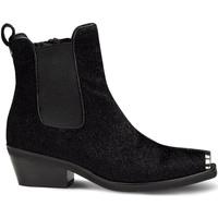 Sapatos Mulher Botas baixas Cult CLE104184 Preto
