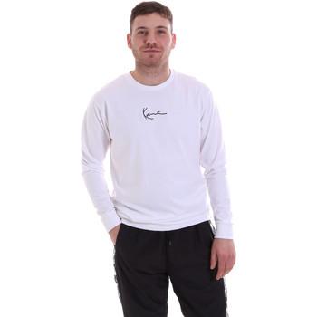 Textil Homem Sweats Karl Kani KRCKKMQ22002WHT Branco