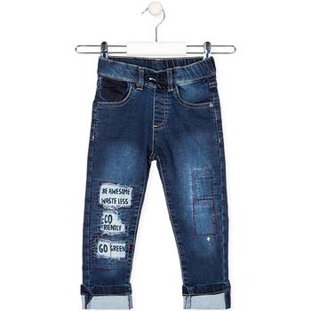 Textil Criança Calças de ganga Losan 025-6038AL Azul