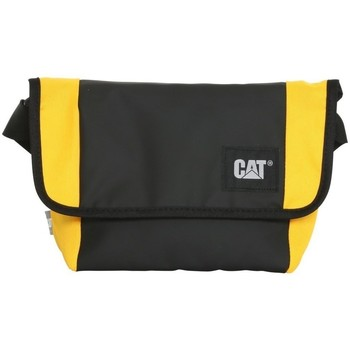 Malas Bolsa Caterpillar Detroit Courier Bag Preto, Amarelo