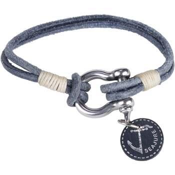 Relógios & jóias Homem Pulseiras Seajure Gambier Azul