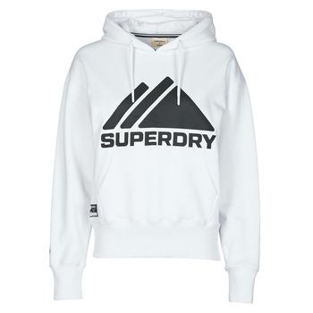 Textil Mulher Sweats Superdry MOUNTAIN SPORT MONO HOOD Branco