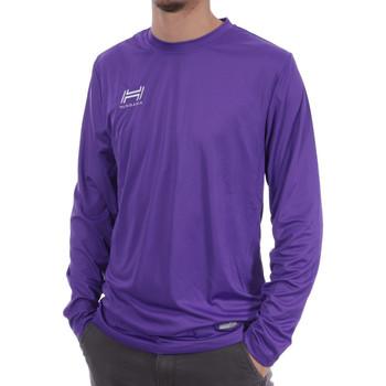 Textil Homem T-shirt mangas compridas Hungaria  Violeta