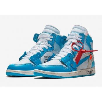 Sapatos Sapatilhas de cano-alto Nike Air Jordan 1 High x Off White