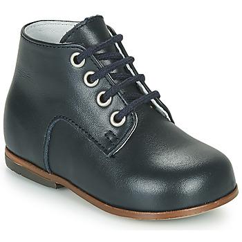 Sapatos Rapariga Sapatilhas de cano-alto Little Mary MILOTO Azul