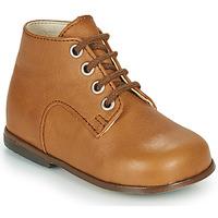 Sapatos Rapariga Sapatilhas de cano-alto Little Mary MILOTO Castanho