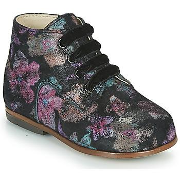 Sapatos Rapariga Sapatilhas de cano-alto Little Mary MILOTO Preto
