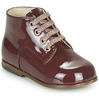 Sapatos Rapariga Sapatilhas de cano-alto Little Mary MILOTO Bordô