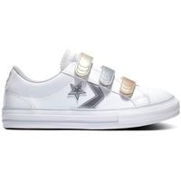Sapatos Criança Sapatilhas Converse Star player 3v ox Branco