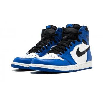Sapatos Sapatilhas de cano-alto Nike Air Jordan 1 High Game Royal Game Royal/Summit White-Black