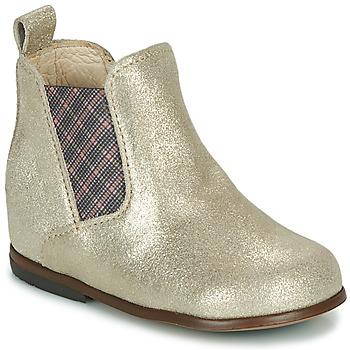 Sapatos Rapariga Botas baixas Little Mary ARON Prata