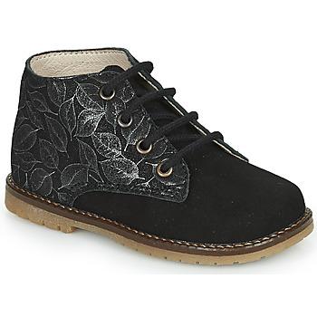 Sapatos Rapariga Sapatilhas de cano-alto Little Mary JUDITE Preto