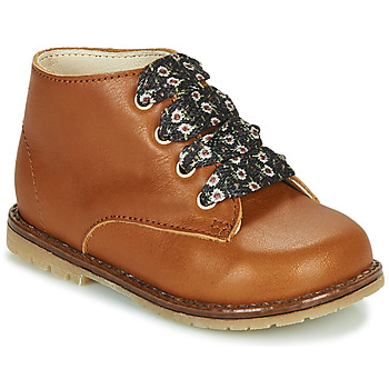 Sapatos Rapariga Sapatilhas de cano-alto Little Mary JUDITE Castanho