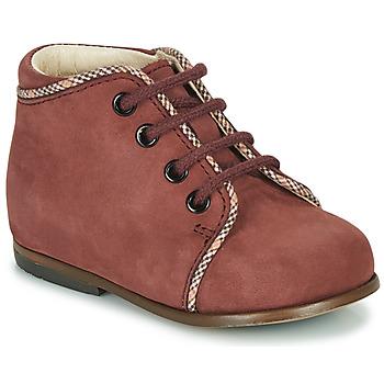 Sapatos Rapariga Sapatilhas de cano-alto Little Mary MEGGIE Bordô