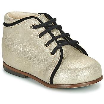 Sapatos Rapariga Sapatilhas de cano-alto Little Mary MEGGIE Prata