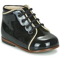 Sapatos Rapariga Sapatilhas de cano-alto Little Mary MEGGIE Preto