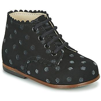 Sapatos Rapariga Sapatilhas de cano-alto Little Mary VIVALDI Preto