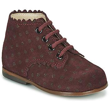 Sapatos Rapariga Sapatilhas de cano-alto Little Mary VIVALDI Bordô