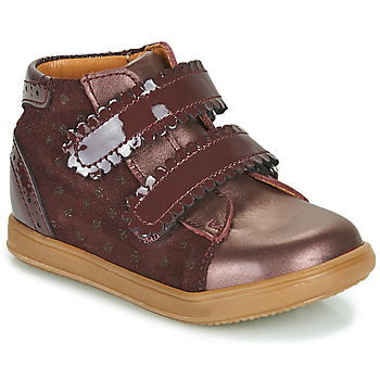 Sapatos Rapariga Sapatilhas de cano-alto Little Mary CRISTIE Bordô
