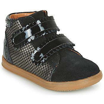 Sapatos Rapariga Sapatilhas de cano-alto Little Mary CRISTIE Preto
