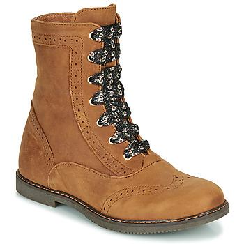 Sapatos Rapariga Botas baixas Little Mary LYSIANE Castanho