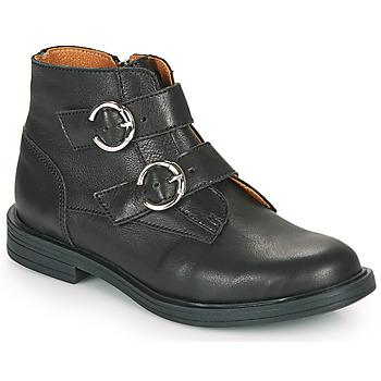 Sapatos Rapariga Botas baixas Little Mary EMILIENNE Preto