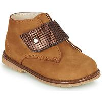 Sapatos Rapariga Sapatilhas de cano-alto Little Mary JANYCE Castanho