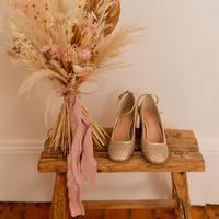 Sapatos Mulher Escarpim Céleste MIRABELLE Ouro