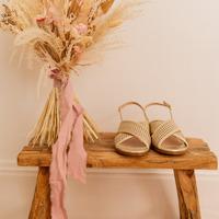 Sapatos Mulher Sandálias Céleste ORANGER Ouro