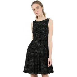 Textil Mulher Vestidos curtos Molly Bracken R1532H20 Preto