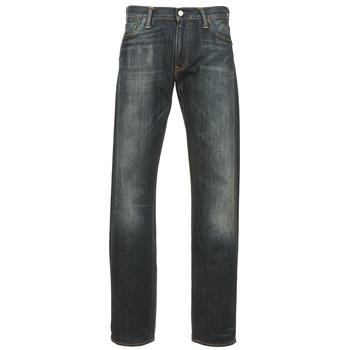 Textil Homem Calças Jeans Levi's 504 REGULAR STRAIGHT FIT Azul / Escuro
