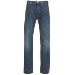 Textil Homem Calças Jeans Levi's 501 THE ORIGINAL Azul / Escuro