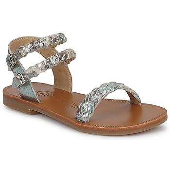 Sapatos Rapariga Sandálias Pom d'Api KOH BI WOVEN Camuflagem