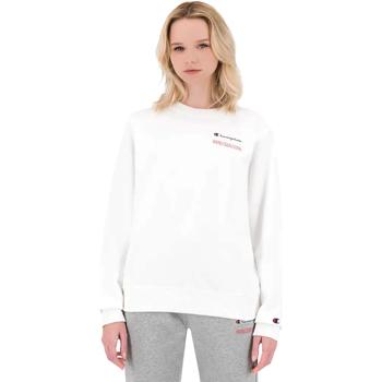Textil Mulher Sweats Champion 114712 Branco