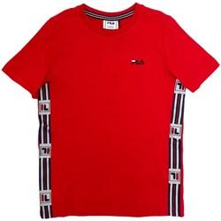 Textil Criança T-Shirt mangas curtas Fila 688118 Vermelho