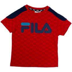 Textil Criança T-Shirt mangas curtas Fila 688077 Vermelho