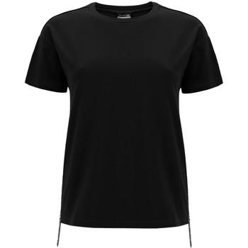 Textil Mulher T-Shirt mangas curtas Freddy F0WSDT5 Preto