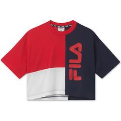 Textil Criança T-Shirt mangas curtas Fila 687998 Vermelho