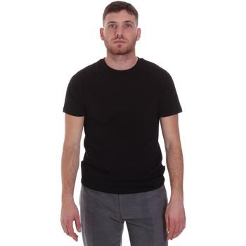 Textil Homem T-Shirt mangas curtas Sseinse MI1692SS Preto