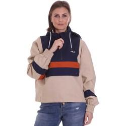 Textil Mulher Jaquetas Fila 687922 Bege
