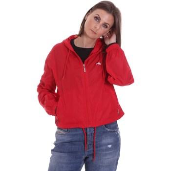 Textil Mulher Casacos  Fila 687601 Vermelho