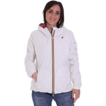 Textil Mulher Jaquetas K-Way K00A2F0 Branco