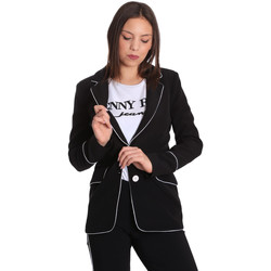 Textil Mulher Casacos/Blazers Denny Rose 811DD30004 Preto